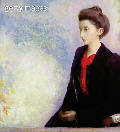 <b>Title</b> : Portrait of Baroness Robert de Domecy, 1900 (oil on canvas)Additional Infowife of an art collector;<br><b>Medium</b> : oil on canvas<br><b>Location</b> : Musee d'Orsay, Paris, France<br> - gettyimageskorea