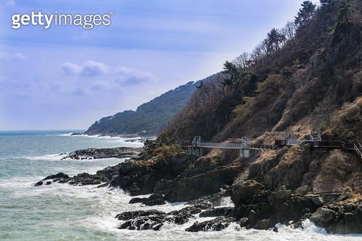이기대공원 해안산책로, 부산시 남구 용호동 - gettyimageskorea