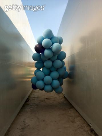 Floating Balloons - gettyimageskorea