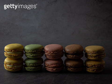 The macaron is a type of traditional cookie of French gastronomy - gettyimageskorea