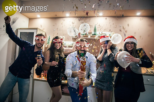 New Year's Party - gettyimageskorea