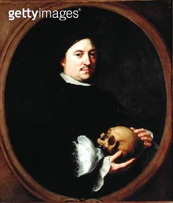 <b>Title</b> : Portrait of Nicolas Omasur, 1672 (oil on canvas)<br><b>Medium</b> : oil on canvas<br><b>Location</b> : Prado, Madrid, Spain<br> - gettyimageskorea