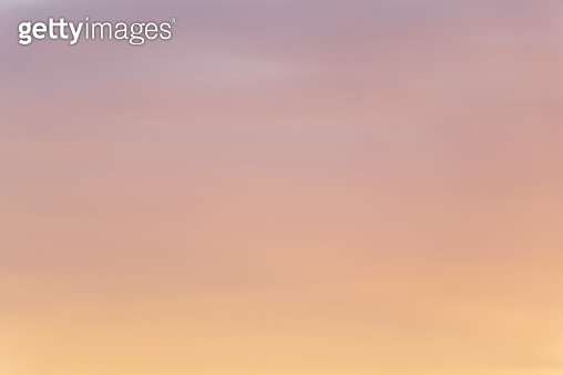 Cloud Typologies - Twilight Sky - gettyimageskorea