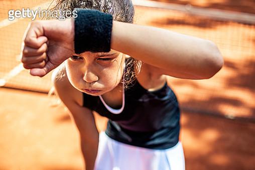 Junior Tennis Player - gettyimageskorea