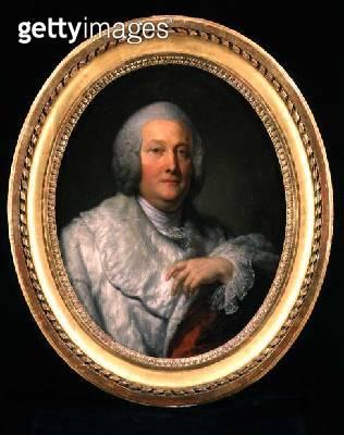 <b>Title</b> : Portrait of Cardinal de Bernis (oil on canvas)Additional InfoFrancois Joachim de Pierre de Bernis (1715-94);<br><b>Medium</b> : oil on canvas<br><b>Location</b> : Private Collection<br> - gettyimageskorea