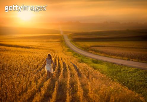 Nebraska Sunset - gettyimageskorea