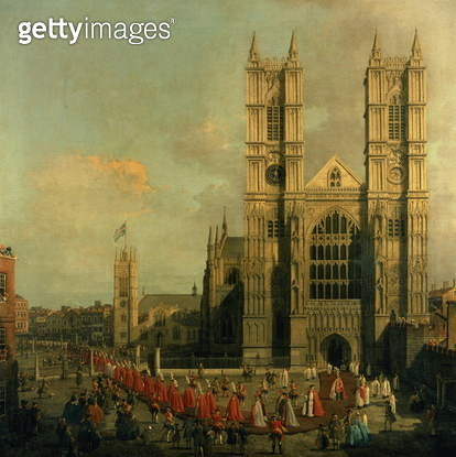 Procession of the Knights of the Bath - gettyimageskorea