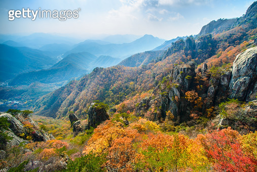 대둔산의 가을 - gettyimageskorea