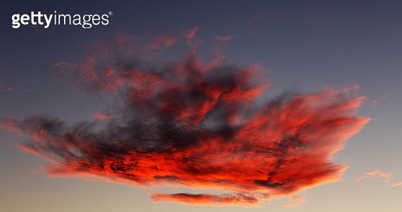 Low Angle View Of Orange Sky - gettyimageskorea
