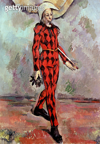 <b>Title</b> : Harlequin, 1890 (oil on canvas)<br><b>Medium</b> : oil on canvas<br><b>Location</b> : Private Collection<br> - gettyimageskorea