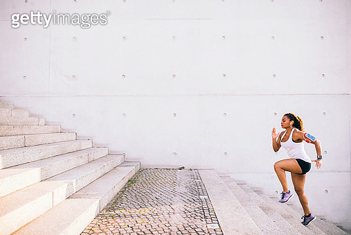 Woman doing workout. - gettyimageskorea