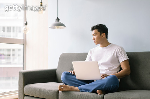 Man Working From Home - gettyimageskorea