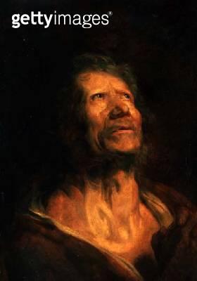 <b>Title</b> : Peter the Apostle (oil on canvas)<br><b>Medium</b> : oil on canvas<br><b>Location</b> : Ciurlionis State Art Museum, Kaunas, Lithuania<br> - gettyimageskorea