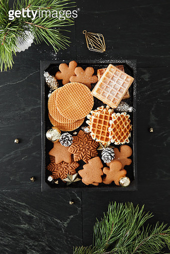 Christmas desserts and decoration - gettyimageskorea