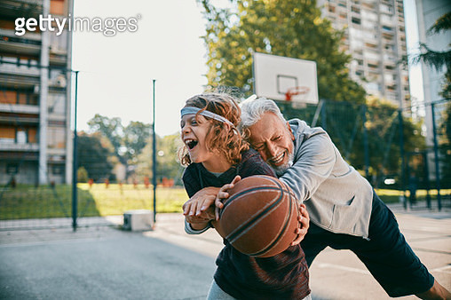Playing Basketball - gettyimageskorea