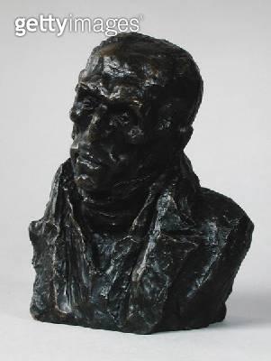 <b>Title</b> : Bust of Francois-Pierre-Guillaume Guizot (1787-1874) 1833 (bronze)<br><b>Medium</b> : bronze<br><b>Location</b> : Musee des Beaux-Arts, Marseille, France<br> - gettyimageskorea