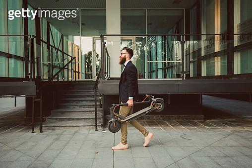 Hipster businessman - gettyimageskorea