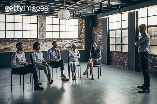 Business group therapy! - gettyimageskorea