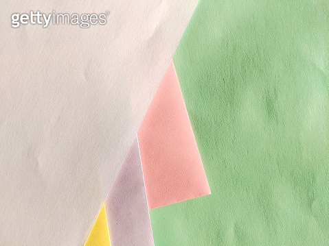 High Angle View Of Multi Colored Paper Flat Lay - gettyimageskorea