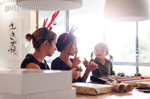 Christmas celebration with family and friends - gettyimageskorea