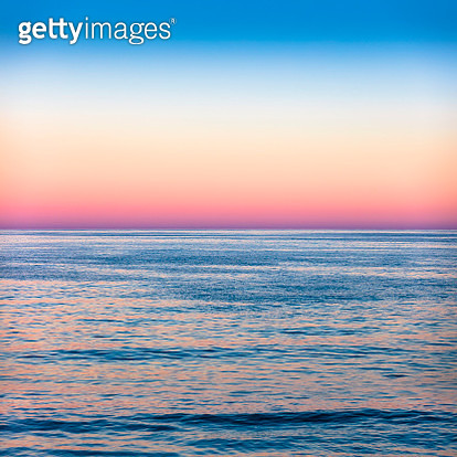 Sunset sea romantic beautiful background Unicorn - gettyimageskorea