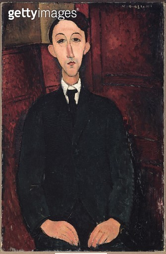 <b>Title</b> : Portrait of the Painter Manuel Humbert, 1916 (oil on canvas)<br><b>Medium</b> : oil on canvas<br><b>Location</b> : National Gallery of Victoria, Melbourne, Australia<br> - gettyimageskorea