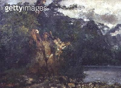 <b>Title</b> : Swiss Landscape (oil)<br><b>Medium</b> : oil<br><b>Location</b> : York Museums Trust (York Art Gallery), UK<br> - gettyimageskorea
