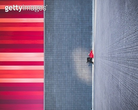 Abstract Patterns On Walls - gettyimageskorea