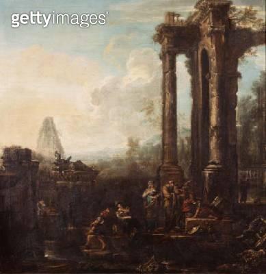 A capriccio of classical ruins - gettyimageskorea