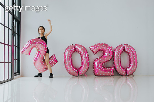 2020, 10-11 Years, cheerful, happiness, party, new year, passion, goal, success - gettyimageskorea