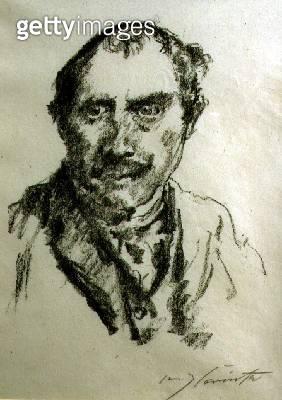 <b>Title</b> : Self Portrait, 1920 (litho)<br><b>Medium</b> : lithograph<br><b>Location</b> : Wolseley Fine Arts, London, UK<br> - gettyimageskorea