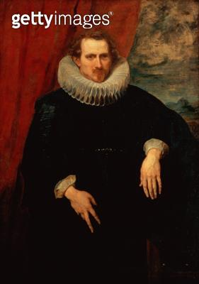 <b>Title</b> : Portrait of a Man (oil on canvas) (see also 124366)<br><b>Medium</b> : oil on canvas<br><b>Location</b> : Southampton City Art Gallery, Hampshire, UK<br> - gettyimageskorea