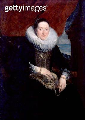 <b>Title</b> : Portrait of a Woman (oil on canvas) (see also 124365)<br><b>Medium</b> : oil on canvas<br><b>Location</b> : Southampton City Art Gallery, Hampshire, UK<br> - gettyimageskorea