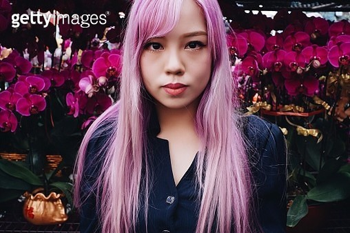 Portrait Of Young Woman - gettyimageskorea