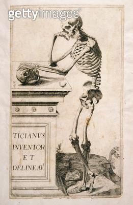 <b>Title</b> : Anatomical study, by Domenico Maria Bonavera (b.1640) (etching and drypoint)Additional Infoone of a set of eighteen;<br><b>Medium</b> : etching and drypoint<br><b>Location</b> : Private Collection<br> - gettyimageskorea
