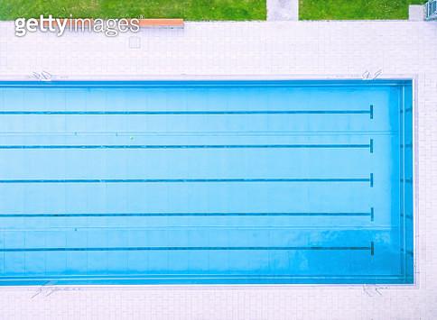 Outdoor swimming pool. Summer. - gettyimageskorea