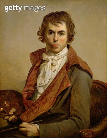 <b>Title</b> : Self Portrait, 1794 (oil on canvas)<br><b>Medium</b> : oil on canvas<br><b>Location</b> : Louvre, Paris, France<br> - gettyimageskorea