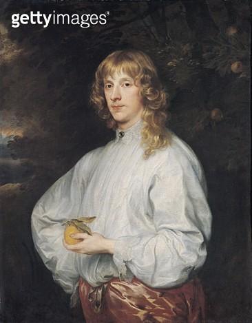 <b>Title</b> : James Stuart (1612-55) Duke of Richmond and Lennox (oil on canvas)<br><b>Medium</b> : oil on canvas<br><b>Location</b> : Louvre, Paris, France<br> - gettyimageskorea