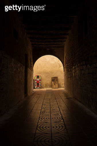 Colorfoul streets of Essaouira in morning time. Morocco - gettyimageskorea