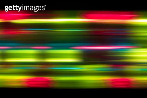 Abstract Speed Blur Light Trails - gettyimageskorea