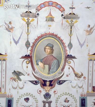 <b>Title</b> : Portrait of Filippino Lippi (fresco)<br><b>Medium</b> : fresco<br><b>Location</b> : Palazzo Comunale, Prato, Italy<br> - gettyimageskorea