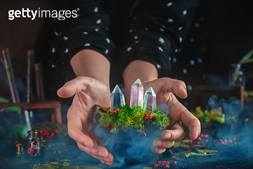 Witch crystals - gettyimageskorea
