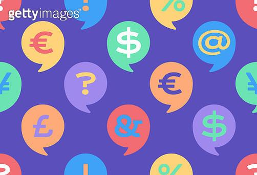 Financial Conversation Seamless Background - gettyimageskorea