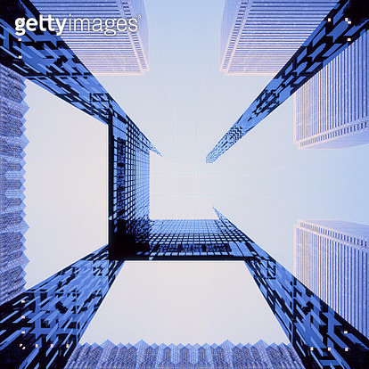 Multiple exposure business abstract - gettyimageskorea