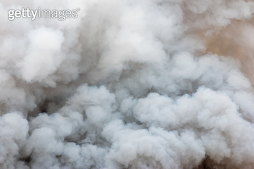 Bomb smoke background,Smoke caused by explosions. - gettyimageskorea
