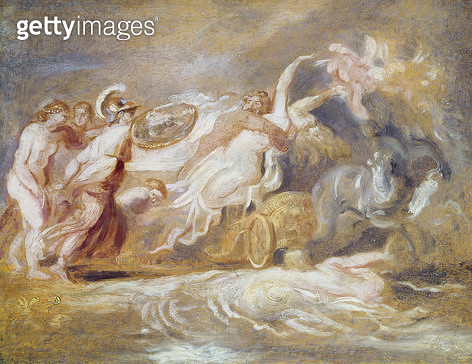 <b>Title</b> : Rape of Proserpine (oil on panel)Additional Infogoddess of the reviving crops;<br><b>Medium</b> : oil on panel<br><b>Location</b> : Private Collection<br> - gettyimageskorea