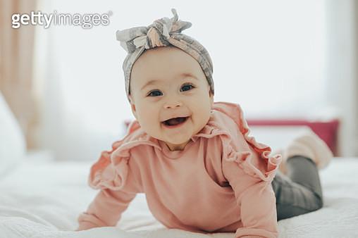 Happy baby - gettyimageskorea
