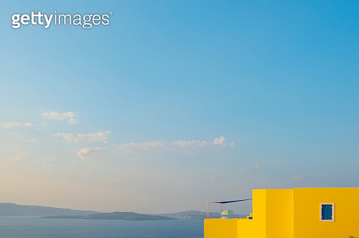 Greek panorama and architecture - gettyimageskorea