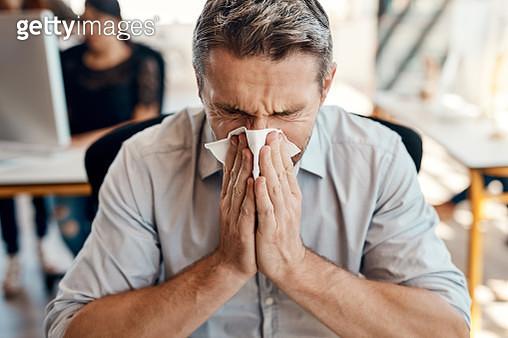 Somebody should have gotten his flu shot - gettyimageskorea