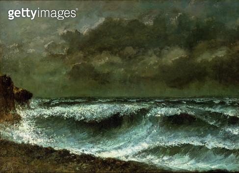 <b>Title</b> : Squall on the Horizon, c.1872 (oil on canvas)<br><b>Medium</b> : oil on canvas<br><b>Location</b> : Tokyo Fuji Art Museum, Tokyo, Japan<br> - gettyimageskorea